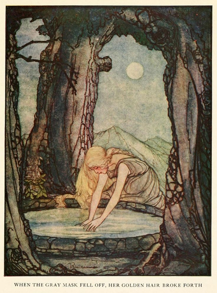 pigen og månen